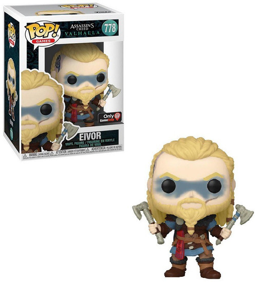 Funko Assassin's Creed Valhalla Pop! Games Eivor Exclusive Vinyl Figure #778 [w/ Double Axes] (Pre-Order ships May)