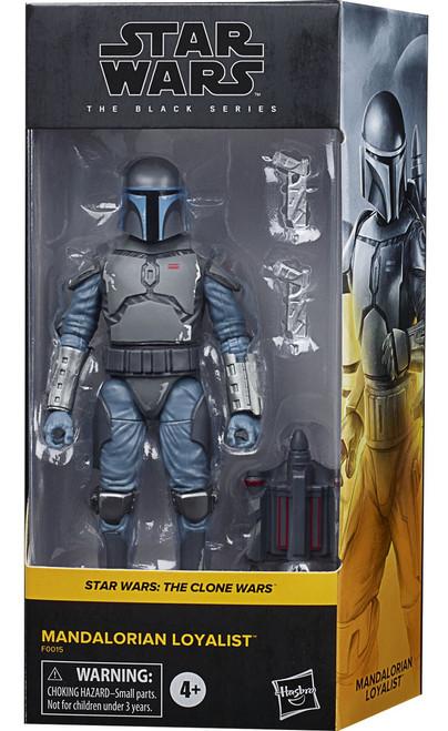 Star Wars The Clone Wars Black Series Mandalorian Loyalist Exclusive Action Figure