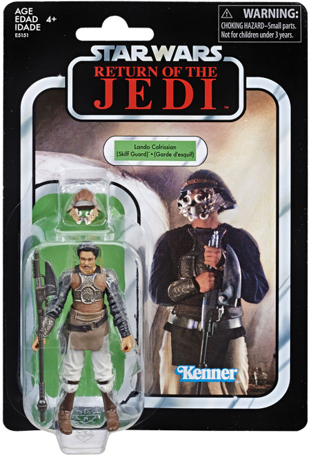 Star Wars Return of the Jedi Vintage Collection Lando Calrissian Exclusive Action Figure [Skiff Guard]