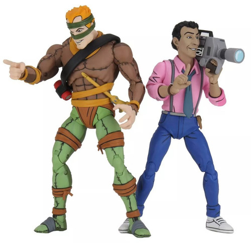 NECA Teenage Mutant Ninja Turtles Rat King Vs. Vernon Exclusive Action Figure 2-Pack