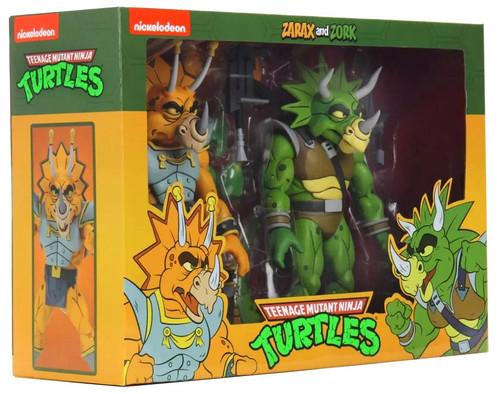 NECA Teenage Mutant Ninja Turtles Zarax & Zork Exclusive Action Figure 2-Pack