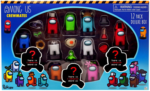 Among Us Crewmate Stampers Boxed 12-Pack [12 RANDOM Figures]