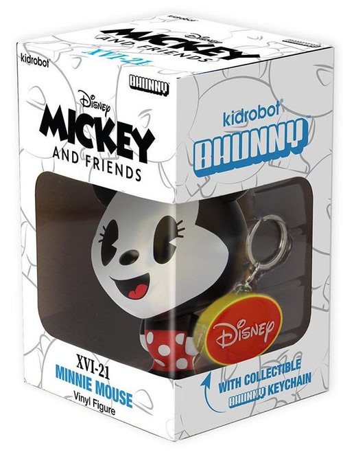 Disney BHUNNY Minnie Mouse 4-Inch Stylized Figure (Pre-Order ships September)