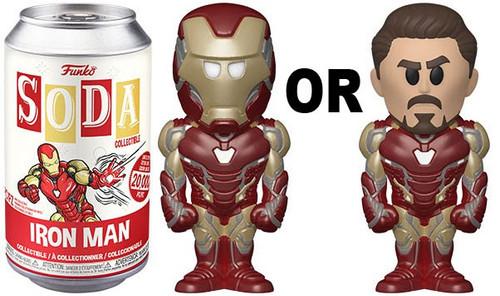 Funko Marvel Vinyl Soda Iron Man Limited Edition of 20,000! Vinyl Figure (Pre-Order ships June)