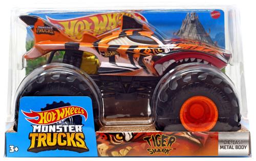 Hot Wheels Monster Trucks Tiger S Diecast Car