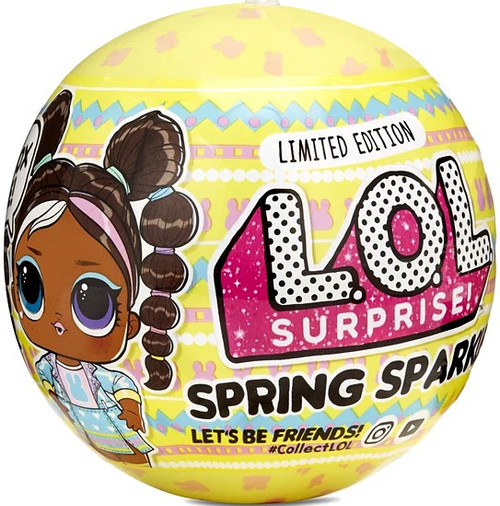 LOL Surprise 2021 LIMITED EDITION Spring Sparkle Chick-A-Dee Figure Pack
