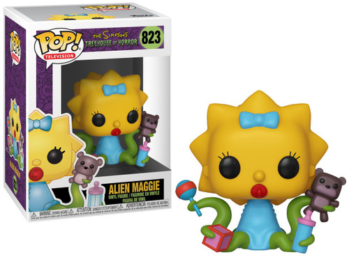 Funko The Simpsons Treehouse of Horror POP! Animation Alien Maggie Vinyl Figure [Damaged Package]