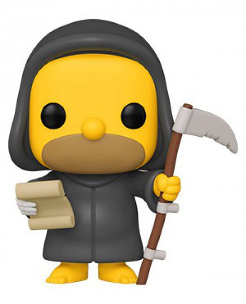 Funko The Simpsons Treehouse of Horror POP! Animation Reaper Homer Vinyl Figure [Damaged Package]