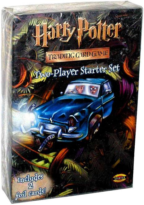 Harry Potter Trading Card Game Chamber of Secrets 2-Player Starter Deck Set [2 Foil Cards!]