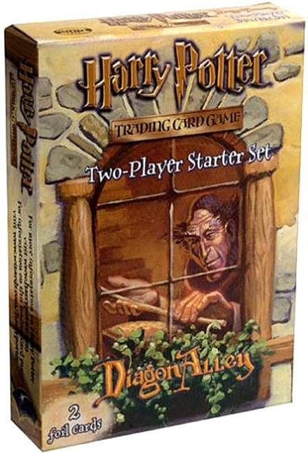 Harry Potter Trading Card Game Diagon Alley 2-Player Starter Deck Set