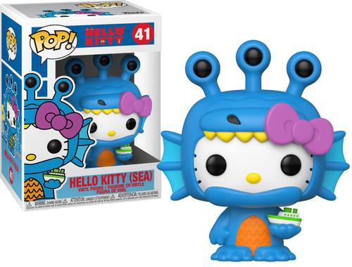 Funko POP! Sanrio Sea Kaiju Hello Kitty Vinyl Figure [Damaged Package]