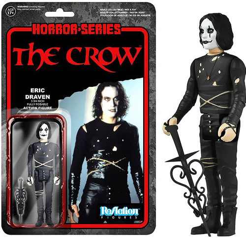 Funko ReAction The Crow Action Figure [Damaged Package]
