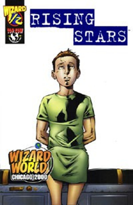 Image Comics Top Cow Rising Stars #1/2 Wizard Comic Book [Blue Foil Edition, CGC graded 9.4, Certification #0028183030] [9.4 White Pages]