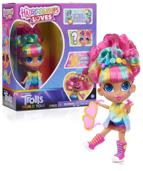 Hairdorables Loves Trolls World Tour Doll [Limited Edition]