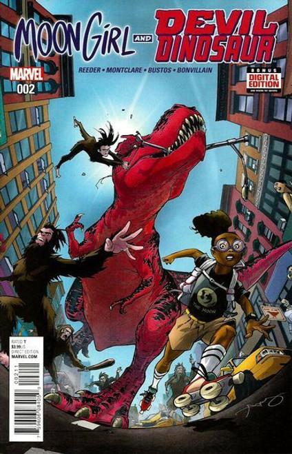 Marvel Moon Girl and Devil Dinosaur #2 Comic Book