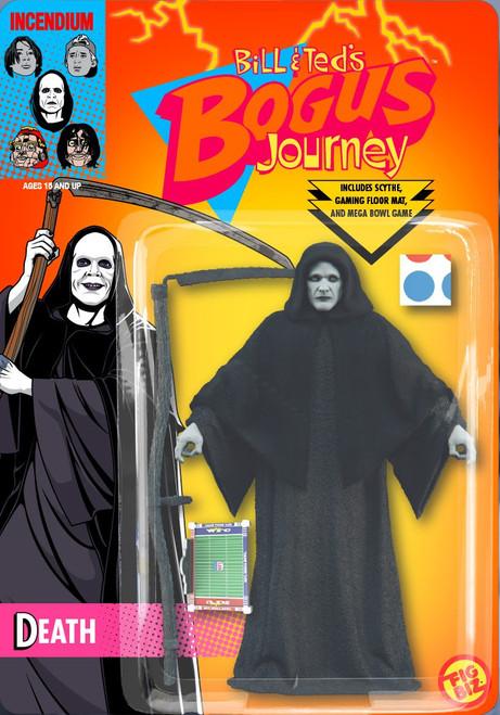 FigBiz Bill & Ted's Bogus Journey Death Action Figure (Pre-Order ships September)