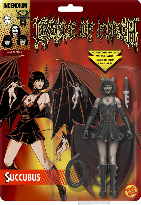 Cradle of Filth Succubus Action Figure (Pre-Order ships October)