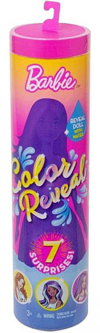 Color Reveal Animal Series Barbie Surprise Doll [Damaged Package]