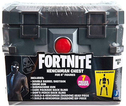 Fortnite Build Shadow Henchman Figure #3 Henchman Chest [Includes Head & Hip Pieces!] (Pre-Order ships March)