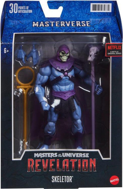 Masters of the Universe Revelation Masterverse Wave 1 Skeletor Action Figure [Netflix, Classic] (Pre-Order ships October)
