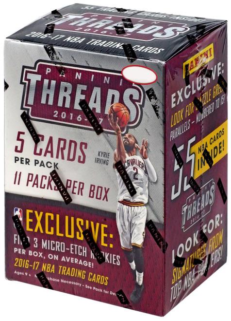 NBA Panini 2016-17 Threads Basketball Trading Card BLASTER Box [11 Packs]