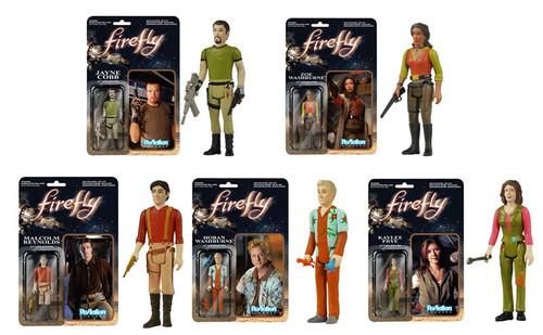 Funko Firefly ReAction Kaylee Frye, Hoban Washburne, Malcolm Reynolds, Jayne Cobb & Zoe Washburne Action Figure [Set of 5]