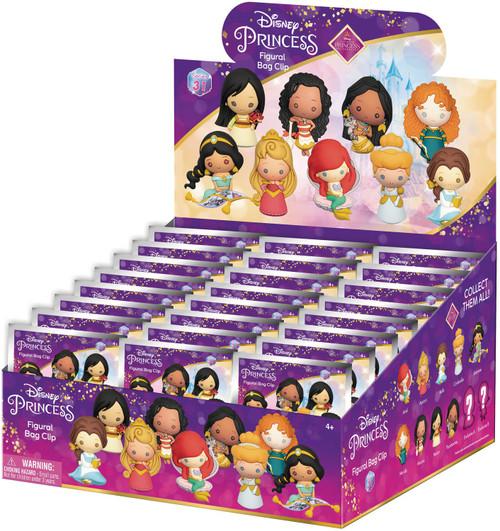 Disney Princess 3D Figural Keyring Disney Ultimate Princess Celebration Series Mystery Box [24 Packs] (Pre-Order ships June)