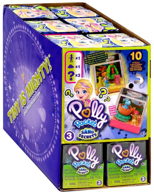 Polly Pocket Sand Secrets Series 3 Mystery Box [18 Packs]