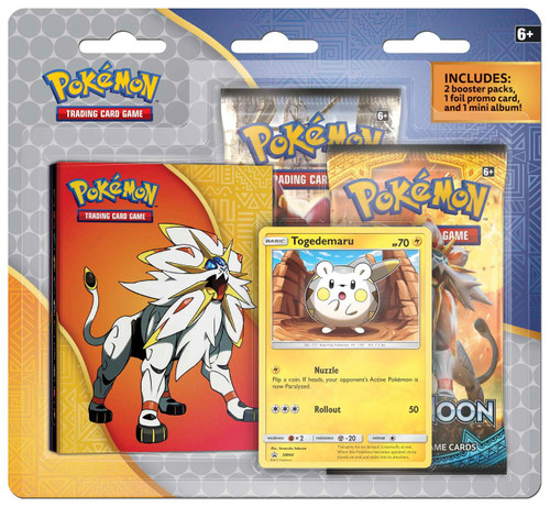 Pokemon Trading Card Game Togedemaru Special Edition Set [2 Booster Packs, Foil Promo Card & Mini Album!]