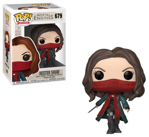 Funko Mortal Engines POP! Movies Hester Shaw Vinyl Figure #679 [Damaged Package]