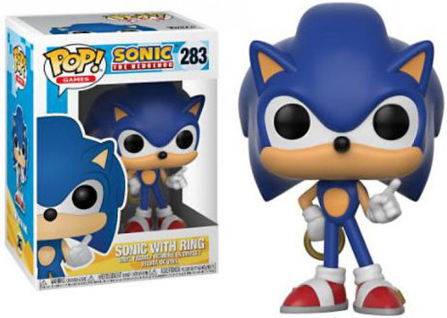 Funko Sonic The Hedgehog POP! Games Sonic with Ring Vinyl Figure [Damaged Package]
