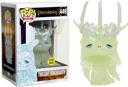 Funko Lord of the Rings POP! Movies Twilight Ringwraith Exclusive Vinyl Figure #449 [Glow-In-The-Dark, Damaged Package]