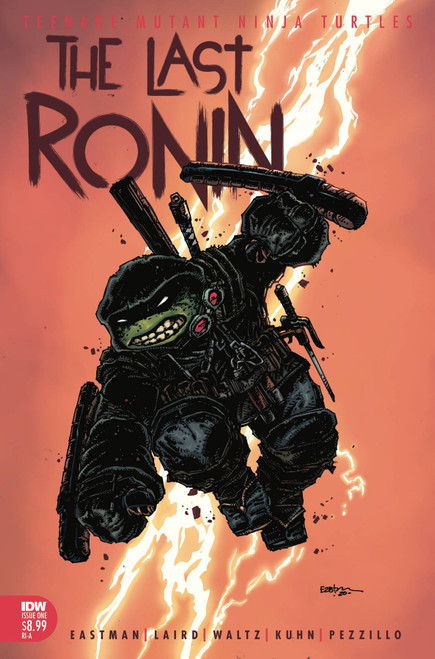 IDW Teenage Mutant Ninja Turtles #1 of 5 Last Ronin Comic Book [Kevin Eastman Incentive Variant, CGC Graded 9.8, Certification #3747473004] [9.8 White Pages]