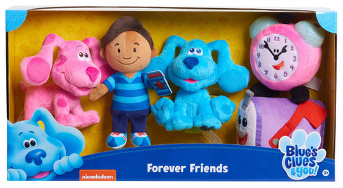 Blue's Clues & You! Forever Friends 6-Inch Plush 5-Pack Set [Blue, Josh, Magenta, Tickety Tock & Mailbox]