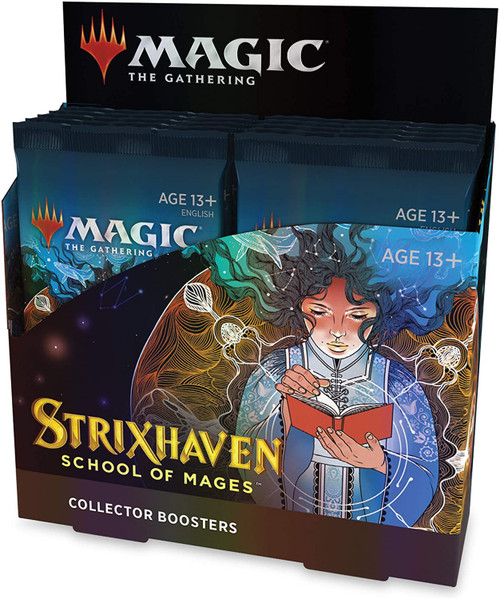 MtG Trading Card Game Strixhaven: School of Mages COLLECTOR Booster Box [12 Packs]