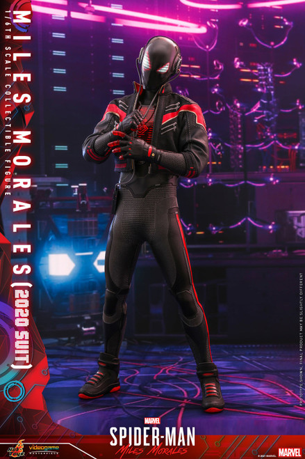 Marvel Spider-Man: Miles Morales Video Game Masterpiece Miles Morales Collectible Figure [2020 Spider-Man Suit ] (Pre-Order ships October 2022)