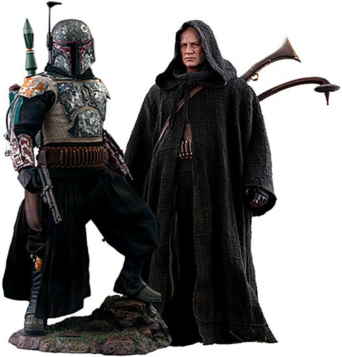 Star Wars The Mandalorian Boba Fett Collectible Figure [Deluxe Version] (Pre-Order ships October 2022)