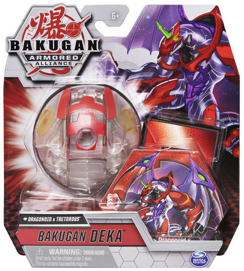 Bakugan Armored Alliance Deka Diamond Dragonoid x Tretorous Figure [Jumbo Bakucore]