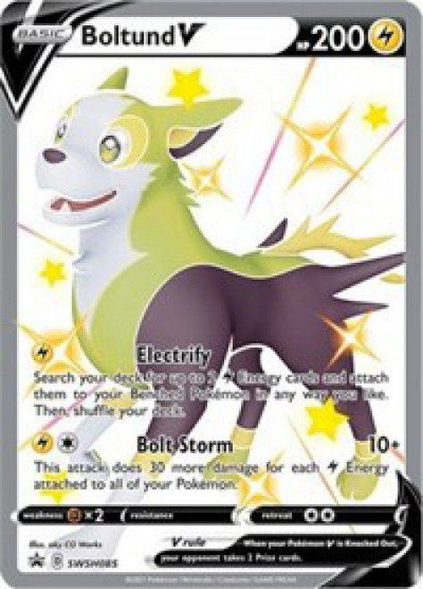 Pokemon Sword & Shield Promo Ultra Rare Boltund V SWSH085