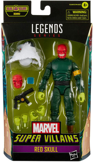 Super Villains Marvel Legends Xemnu Series Red Skull Action Figure (Pre-Order ships August)