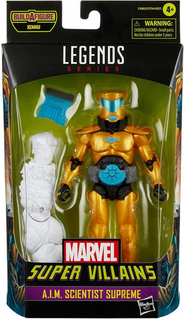 Super Villains Marvel Legends Xemnu Series A.I.M. Scientist Supreme Action Figure (Pre-Order ships August)
