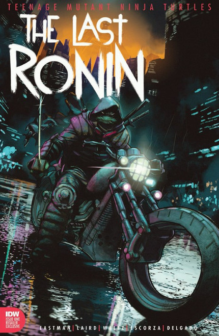 IDW Teenage Mutant Ninja Turtles #1 of 5 Last Ronin Comic Book [Ben Harvey ToyWiz Exclusive Cover, CGC Graded 9.8, Certification #3747473006] [9.8 White Pages]
