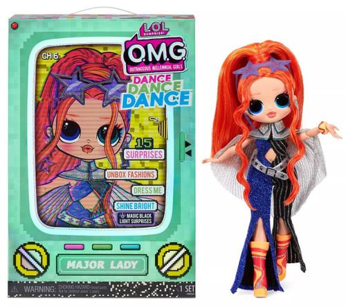 LOL Surprise OMG Dance Dance Dance Major Lady Fashion Doll
