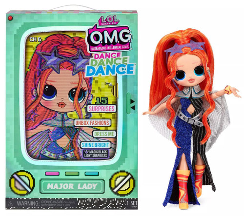 LOL Surprise OMG Dance Dance Dance Major Lady Fashion Doll (Pre-Order ships March)