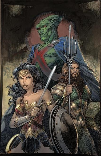 "DC Comics Justice League #59 Comic Book [Jim Lee ""Snyder Cut"" Variant]"