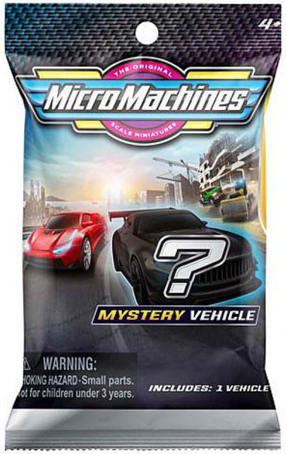 Micro Machines Series 1 Mystery Pack [1 RANDOM Vehicle!] (Pre-Order ships March)