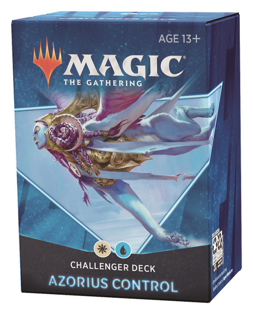MtG Trading Card Game 2021 Azorius Control Challenger Deck