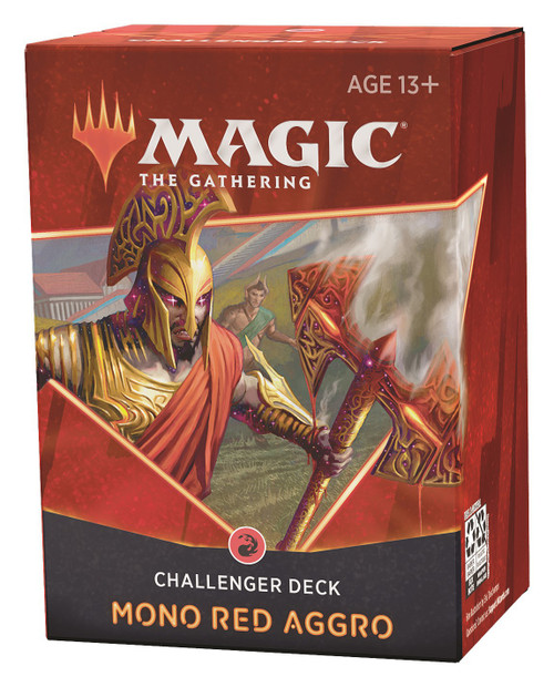 MtG Trading Card Game 2021 Mono Red Aggro Challenger Deck