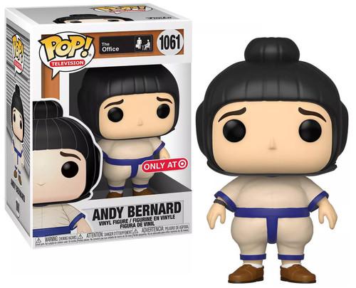 Funko The Office POP! TV Andy Bernard Exclusive Vinyl Figure #1061 [Sumo Suit]