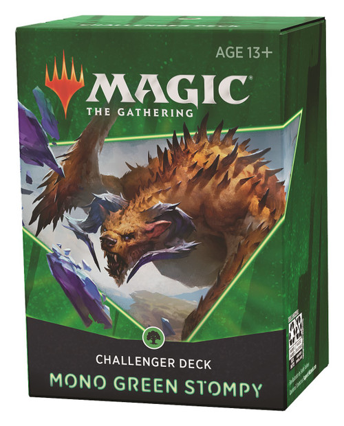 MtG Trading Card Game 2021 Mono Green Stompy Challenger Deck